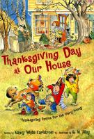 Thanksgiving Day at Our House