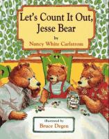 Let's Count It Out, Jesse Bear