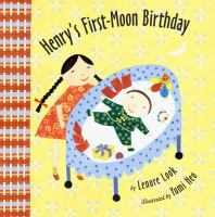 Henry's First-moon Birthday