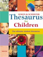 Simon & Schuster Children's Thesaurus