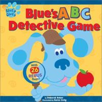 Blue's ABC Detective Game