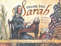Thank you, Sarah : the woman who saved Thanksgiving