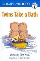 Twins Take A Bath