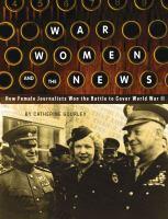War, Women, and the News