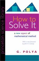 How to Solve It
