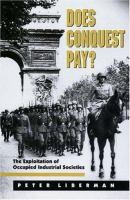 Does Conquest Pay?