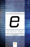 E : the Story of A Number