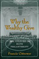 Why the Wealthy Give