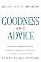 Goodness & Advice