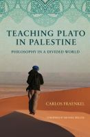Teaching Plato in Palestine