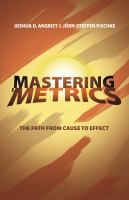 "Mastering ""metrics"""