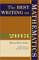 The Best Writing on Mathematics, 2013