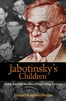Jabotinsky's Children