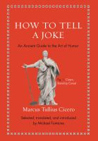 How to Tell A Joke