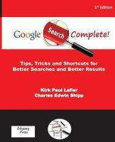 Google Search Complete!