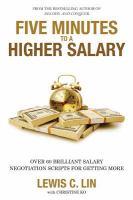 Five Minutes to A Higher Salary