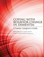 Coping With Behavior Change in Dementia