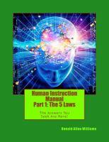 Human Instruction Manual