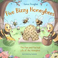 Five bizzy honeybees