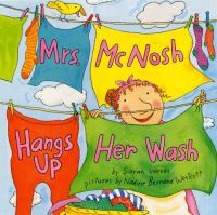 Mrs. McNosh Hangs up Her Wash