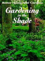Gardening in the Shade