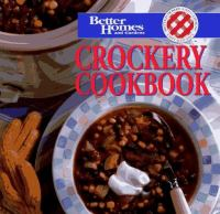Crockery Cookbook