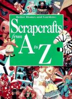 Scrapcrafts for A to Z