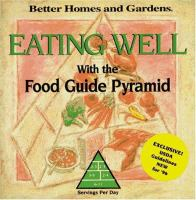 Eating Well With the Food Guide Pyramid