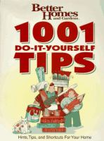1001 Do-it-yourself Tips