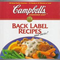 Campbell's Condensed Soup Back Label Recipes and More!