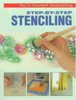Step-by-step Stenciling