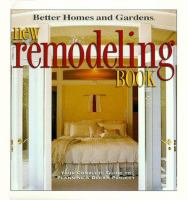 New Remodeling Book