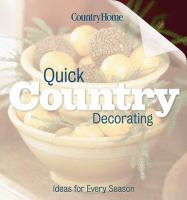 Quick Country Decorating