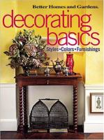 Better Homes and Gardens Decorating Basics