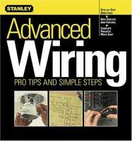 Stanley Advanced Wiring