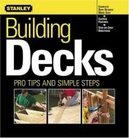 Stanley Building Decks