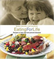 Better Homes and Gardens Eating for Life