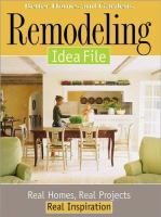 Remodeling Idea File