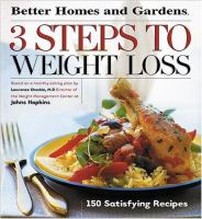 Better Homes and Gardens 3 Steps to Weight Loss