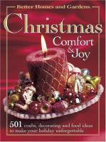 Christmas Comfort & Joy
