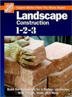 Landscape Construction 1-2-3