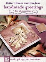 Handmade Greetings for All Occasions