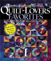 Quilt-lovers' Favorites