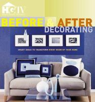 Before & After Decorating