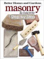 Masonry & Concrete Step-by-step