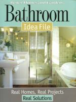 Better Homes and Gardens Bathroom Idea File