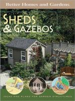 Better Homes and Gardens Sheds and Gazebos