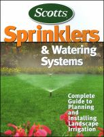 Scotts Sprinklers and Watering Systems