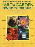 Yard & Garden Owners Manual