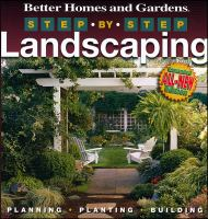 Better Homes and Gardens Step-by-step Landscaping